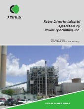Type K Rotary Drives for Industrial Applications by Power Specialties