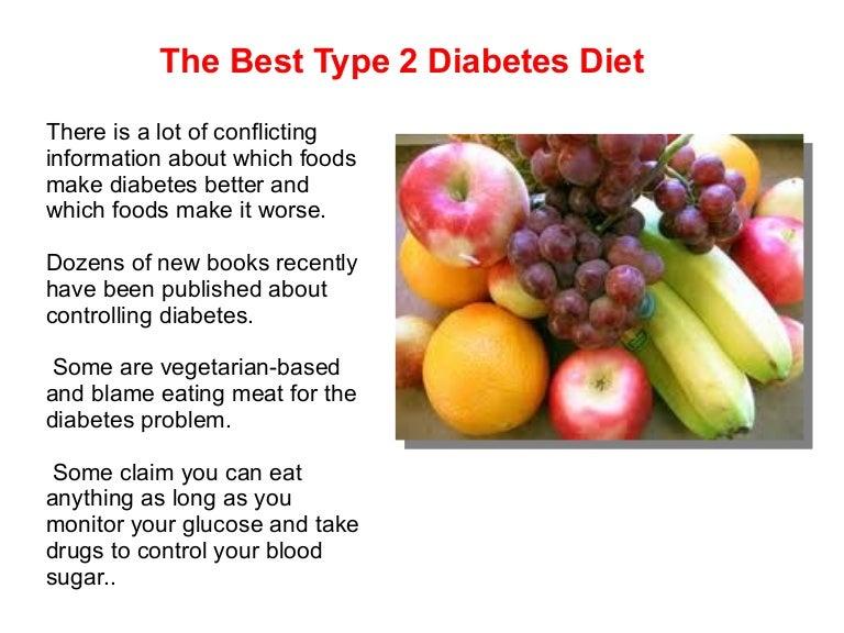 The Best Type 2 Diabetes Diet