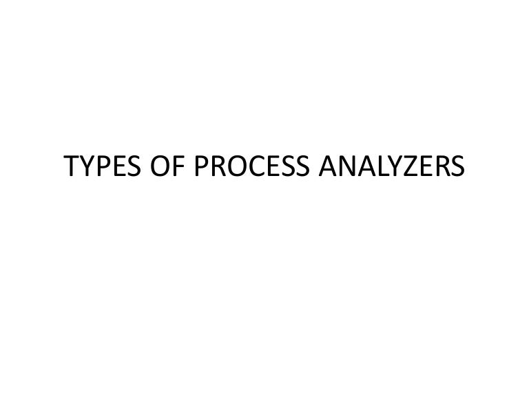 Types of Industrial Process Analyzers