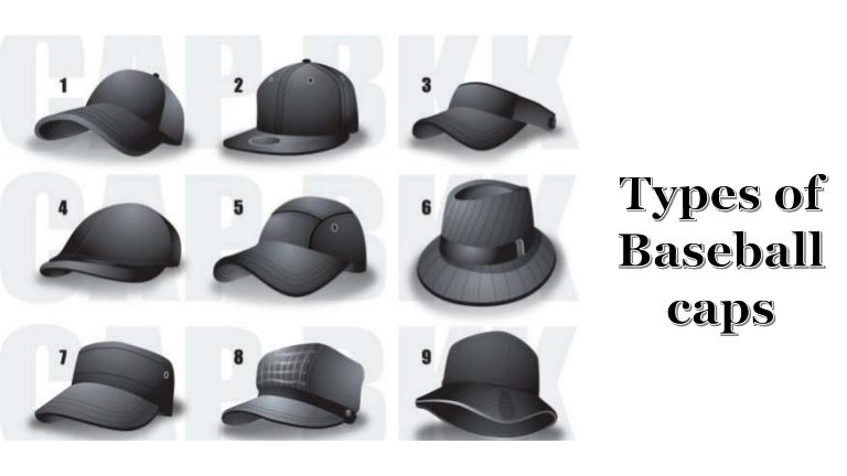 Types Of Baseball Caps