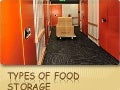 Types of food storage