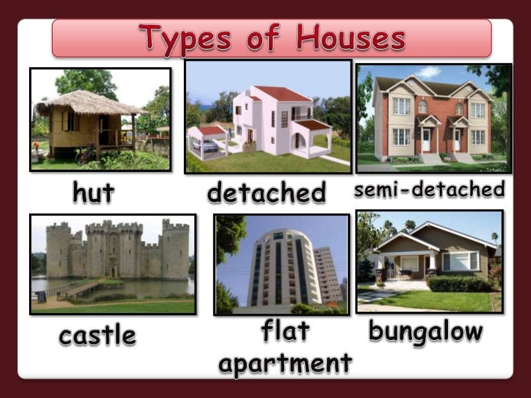 Different house styles names of houses