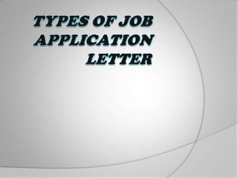 sample job application letter - Job Application Letter Of Introduction