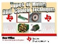 Types of motors and control techniques using TI motor control kit