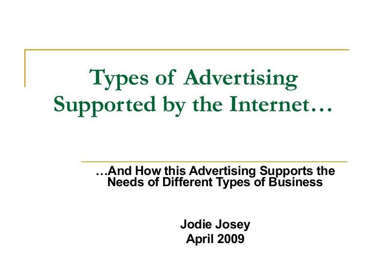 Types Of Online Advertising