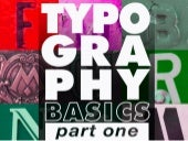 Typography Essentials: Part 1