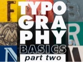 Typography Essentials: Part 2