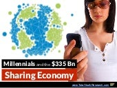 Millennials and the $335 Billion Sharing Economy