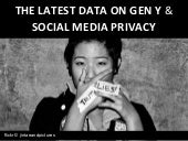 (Total Youth Research) The Latest Data on Gen Y and Privacy