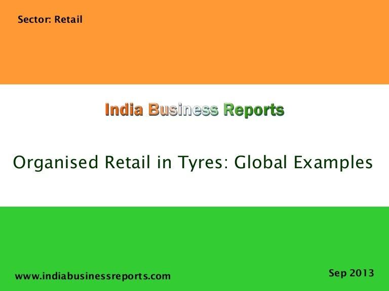 Organised Retail in Tyres: Global Examples