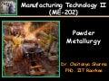U1 p3 powder metallurgy