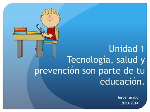 U1 tecnologiasaludyprevencion3ro