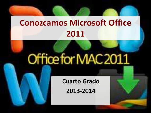U2 conozcamos microsoft_4to