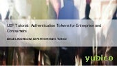 U2F Tutorial - Authentication Tokens for Enterprise and Consumers