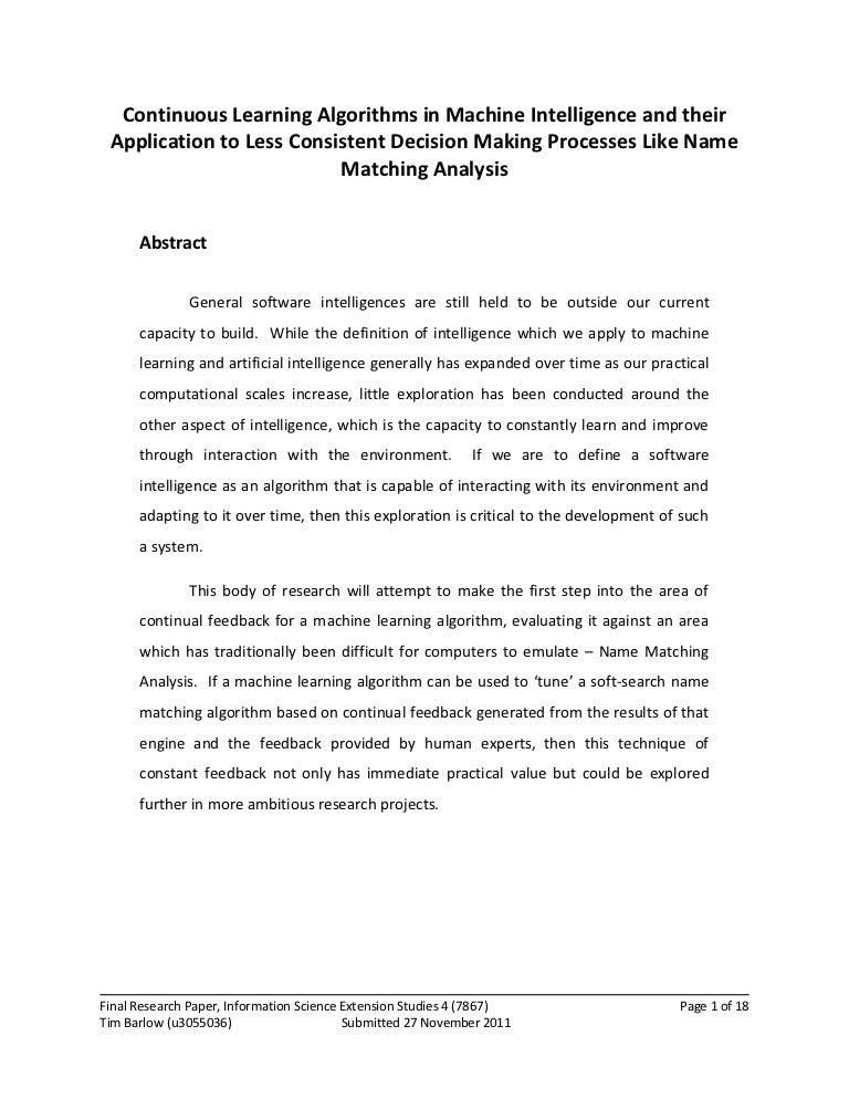 Funding for dissertation