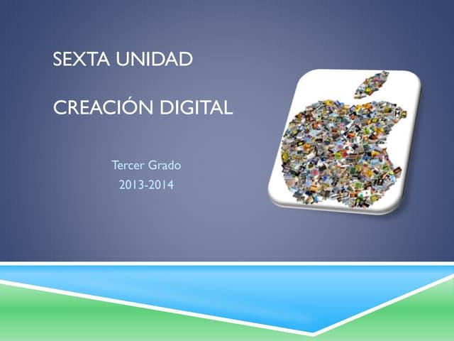 U6 creaciondigital3ro