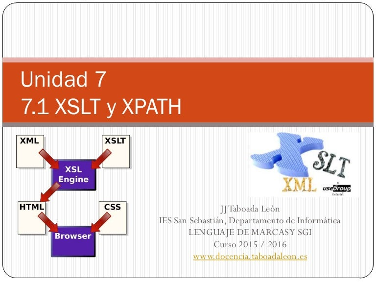 XSLT y XPATH