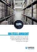Wireless scalable indoor climate monitoring system UNITESS AMBIENT