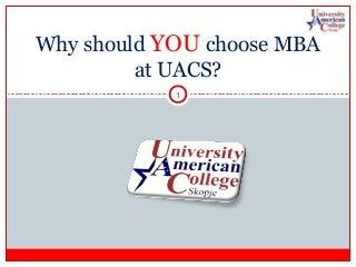 UACS MBA 2013 Promo Day Promo Class