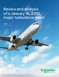 Review and analysis of a January 16, 2014, major turbulence event