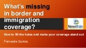 What's missing in border and immigration coverage - Fernanda Santos - Phoenix - 4.07.18