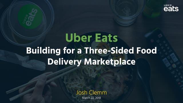 Uber Eats Mobile Tech Talk