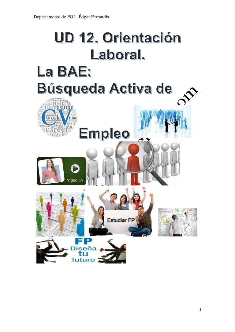 FOL: La búsqueda activa de empleo