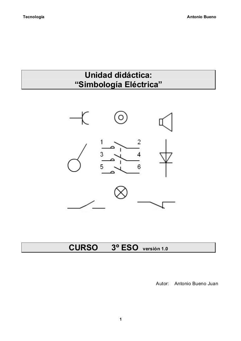 Simbologia Electricidad 3 186 Eso