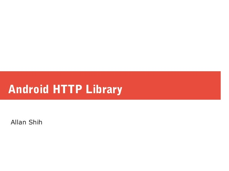 Android httpclient