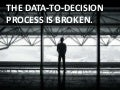 Data is easy. Deciding is hard. 3 issues we need to resolve.