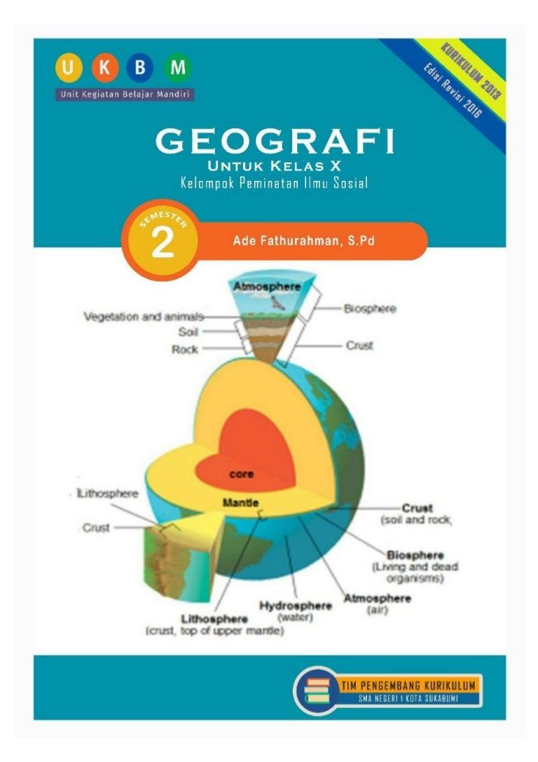 Ukbm Geografi Kelas 10 Semester 2