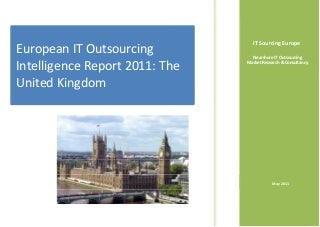 UK IT Outsourcing Intelligence Report 2011
