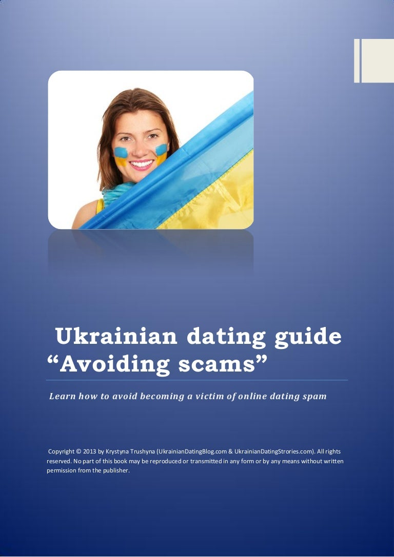 Scammers on dating sites ukraine