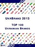 UkrBrand 2013 - TOP 100 Ukrainian Brands