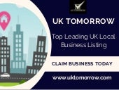 Uk tomorrow local business directory