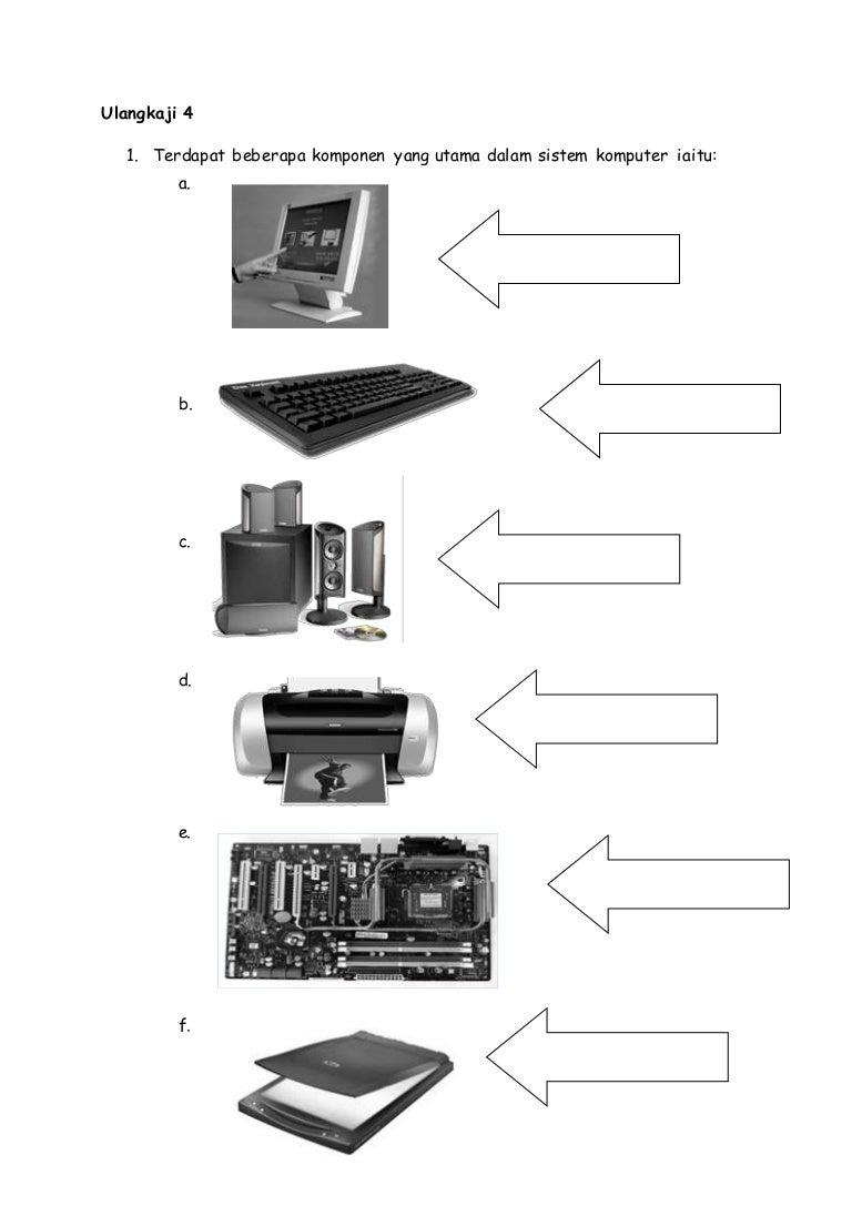 Latihan soalan perkakasan komputer ccuart Image collections
