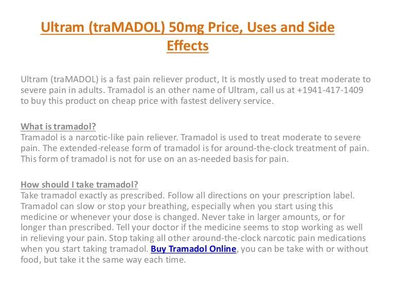 Ultram 50 Mg Price