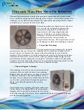 Ultrasonic Mass Flow Meter for Industries