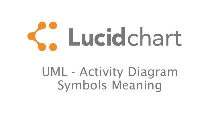 UML - activity diagram symbols meaning
