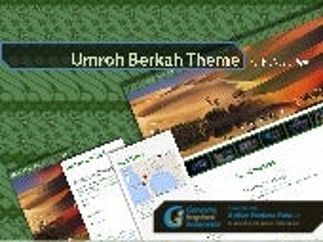 Umroh Berkah Theme Design