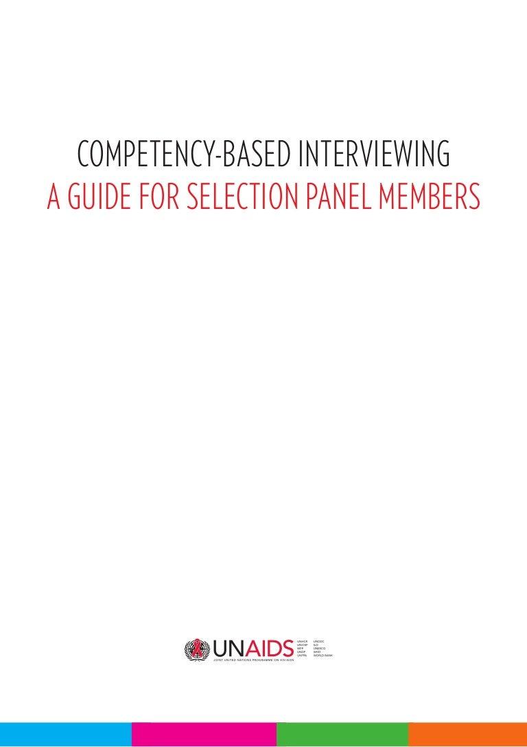 unaids cbi guide for panel members