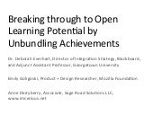 Unbundling Achievements