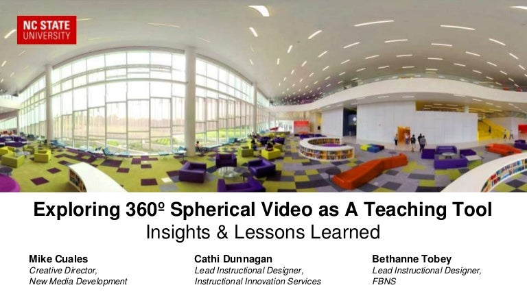 Exploring 360º Spherical Video as A Teaching Tool: Insights