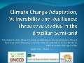 "Catherine Aliana GUCCIARDI GARCEZ ""Climate change adaptation, vulnerability and resilience: four case studies in the Brazilian semi-arid"""