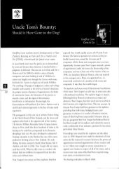 Uncle Tom's Bounty - Should It Have Gone to the Dog - Kain v Hutton - Rothschild - Summer 2006