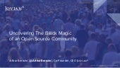 Uncovering the black magic of an open source community