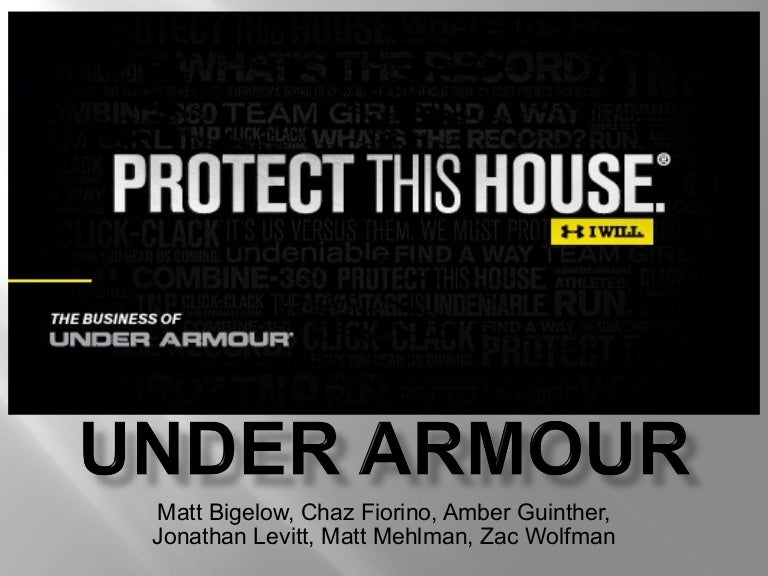 under armour pest analysis Five forces analysis of under armour under armour is a leading brand of athletic gear.