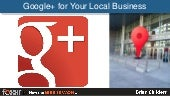 8-28-13 Understanding Google+ for Your Business