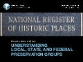[Preservation Tips & Tools] How to Save a Place: Understand Local, State, and Federal Preservation Groups