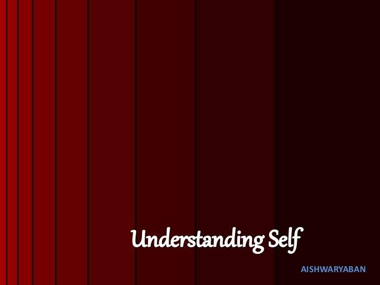 Understanding Self